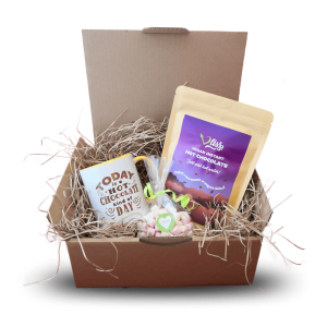 Today is hot chocolate kind of day + Original flavour gift set